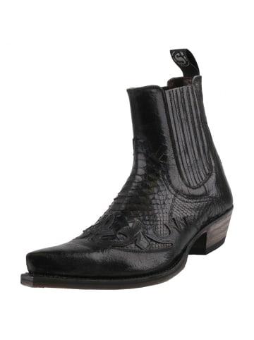 Sendra Boots Stiefelette in Schwarz