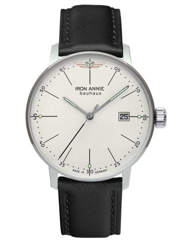 Iron Annie Herrenuhr Bauhaus 1 Schwarz/Silberfarben