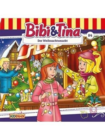Kiddinx Media Bibi & Tina - Der Weihnachtsmarkt. Tl.84, Audio-CD
