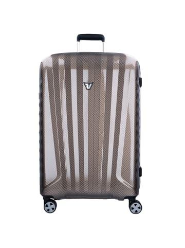 Roncato UNO ZSL Premium 4-Rollen Trolley 76 cm in nero carbon warm grey