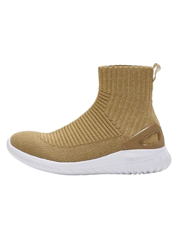 Hummel Sneakers High Pulse Sock Recycle in GOLD