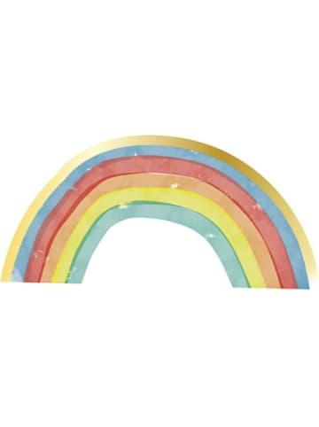 Procos Regenbogen 16 dreilagige Servietten Zuschnitt Regenbogen 33x16,5cm