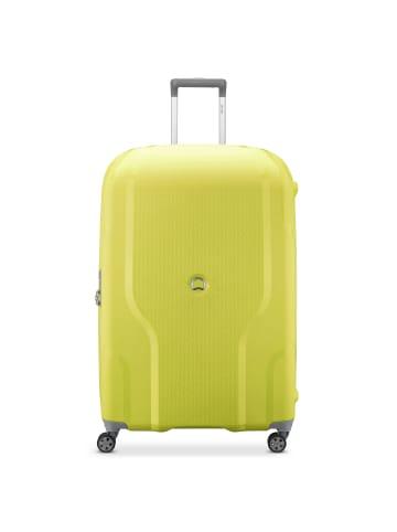 Delsey Clavel 4-Rollen Trolley 83 cm in limone