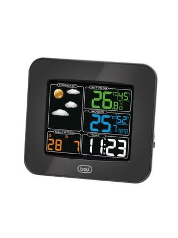 Trevi Wetterstation mit Außensensor in schwarz