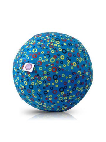 BubaBloon  Textile Ballonhülle, blau, mit Bläschenmotiv