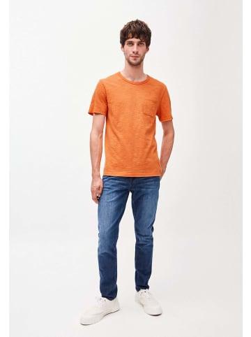 Armedangels Rundhals T-Shirt in orange