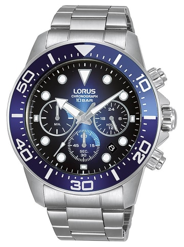 Lorus Herrenuhr Chronograph Blau