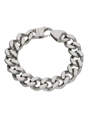 Jacques Charrel Armband Mit Panzerketten Gliederung in Silber