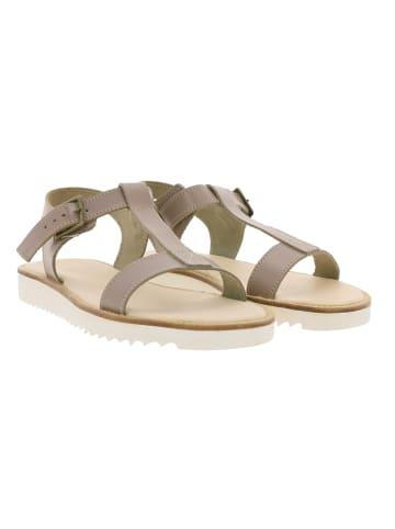 KAVAT Sandale in Braun