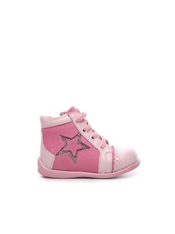 Tanca kids Baby Mädchen Lauflernschuhe in pink