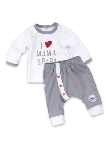 Baby Sweets 2tlg Set Shirt + Hose I love Mama & Papa in bunt