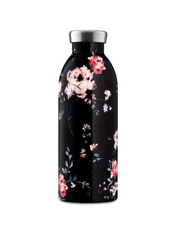 24Bottles Floral Clima Trinkflasche 500 ml in ebony rose