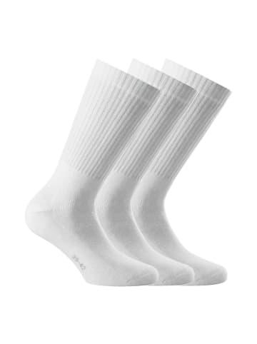 Rohner Socken 3er Pack in Weiß