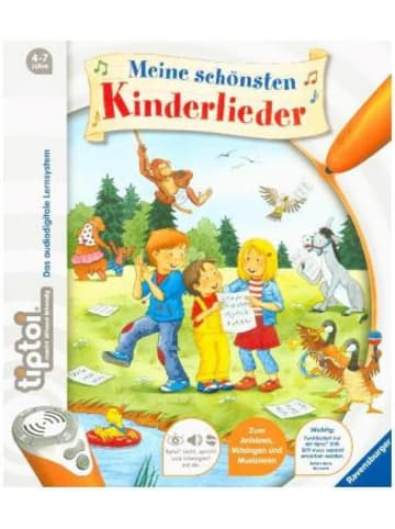 Ravensburger tiptoi® Meine schönsten Kinderlieder; .