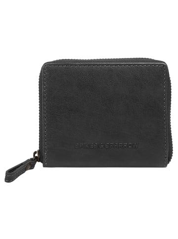 SPIKES & SPARROW Geldbörse RFID in schwarz