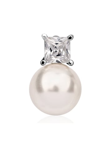 Nenalina Anhänger 925 Sterling Silber Perle in Silber
