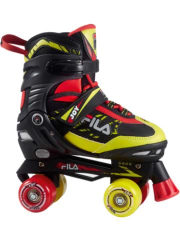 FILA SKATES Rollerskate verstellbar schwarz-lime