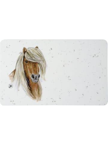 """IHR Ideal Home Range GmbH  Frühstücksbrettchen (Melamin) FARMFRIENDS """"HORSE"""" in bunt 23,5 x 14,5 cm"""