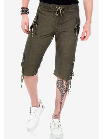 Cipo & Baxx Shorts in Khaki