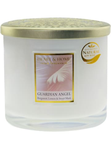 "HEART & HOME Duftkerze Ellipse ""Guardian Angel"", 230g"
