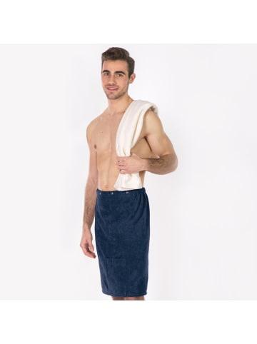 Framsohn Saunakilt für Herren in Jeans - (L) 60 cm