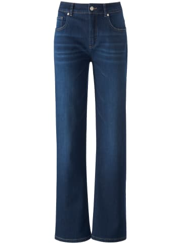 UTA RAASCH 5-Pocket-Jeans Wide Leg-Jeans in blue denim