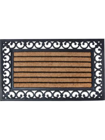 Esschert Design Gummi & Kokos Fußmatte, ca. 75 x 45 cm