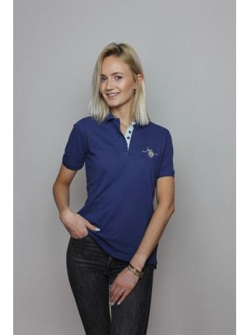 U.S. Polo Assn. Damen Poloshirt Basic in NAVY