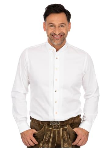 Almsach Hemd Stehkragen LF181 weiß