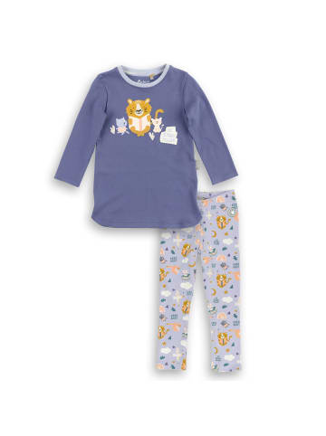 "Sigikid Pyjama ""sigikid Nachtwäsche"" in Lila"
