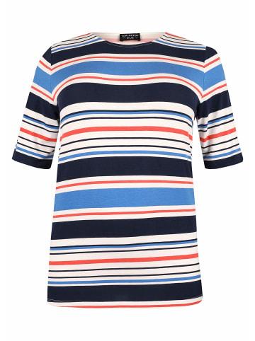 VIA APPIA Fullprint Shirt in blau