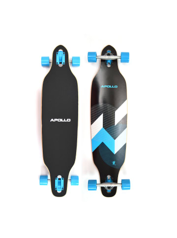 """Apollo Twin Tip DT Longboard """" Matei """" in blau/schwarz/weiß"""