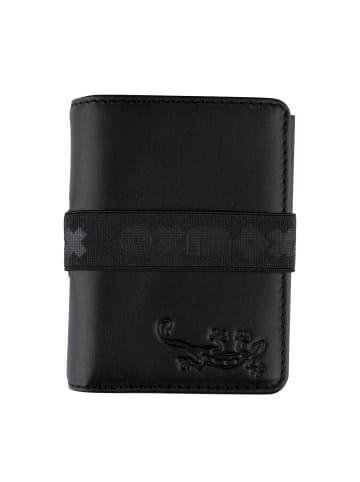 Oxmox Slim6 Kreditkartenetui RFID Leder 7,5 cm in lizard