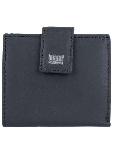 Mano Mano Geldbörse 10 cm Leder in dark blue