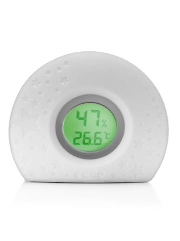 Elanee HygroTemp 2in1 digitales Hygro- und Thermometer mit Farbwechsel