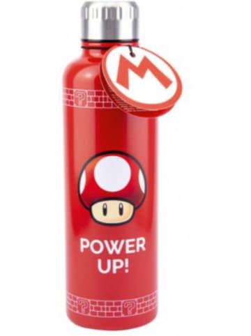 Super Mario Flasche Super Mario Power Up (Metal Rot) 500ml