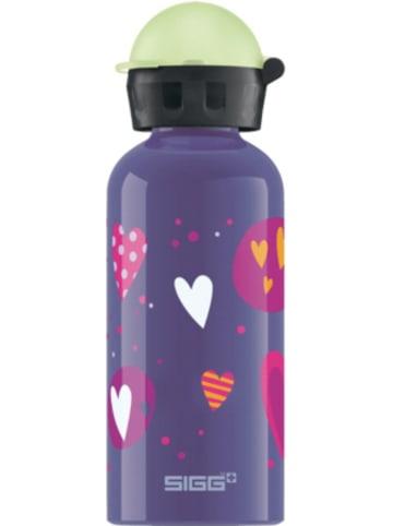 SIGG Alu-Trinkflasche GLOW IN THE DARK Heartballons, 400 ml