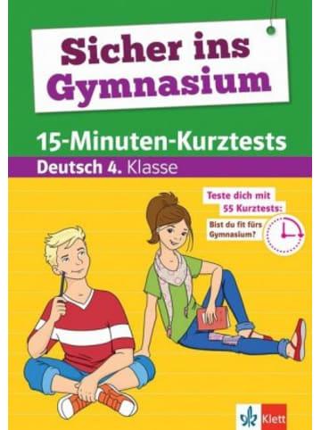 Klett Kinderbuch Sicher ins Gymnasium 15-Minuten-Kurztests Deutsch 4. Klasse