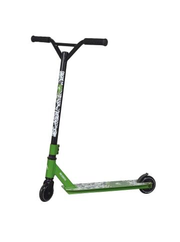 """Apollo Stunt Scooter Freestyle Roller """" Graffiti Pro 4.0 """" in grün"""