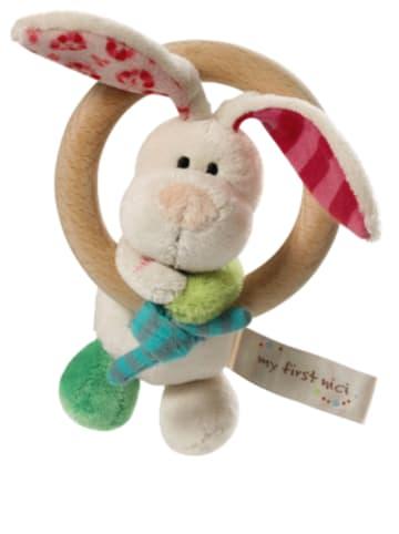 Nici Holzgreifring Hase Tilli mit Glocke für Babys (37433)