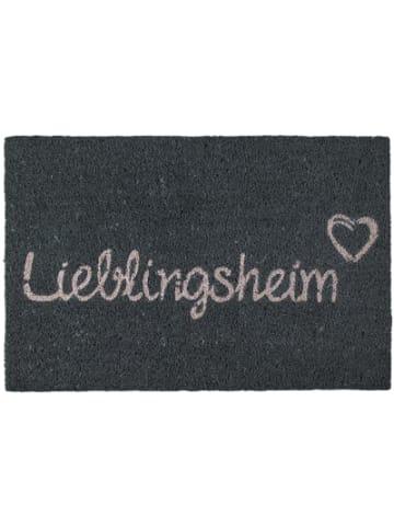 "Out of the Blue Fußmatte ""Lieblingsheim"" 60x40 cm"