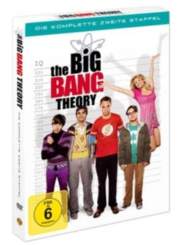 Warner Home Video DVD The Big Bang Theory - Season 2 (4 DVDs)