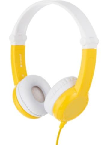 BuddyPhones Buddyphones Kopfhörer Connect, gelb