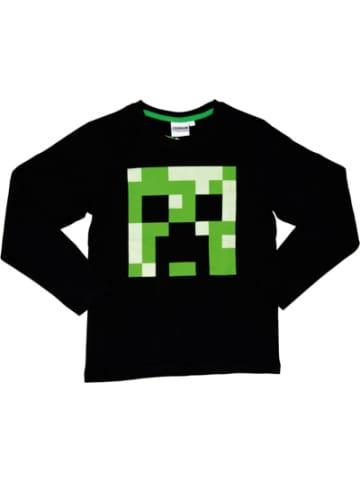 Minecraft Langarmshirt Minecraft black 116cm