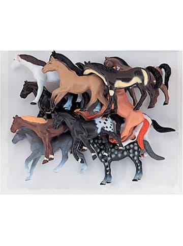 Partystrolche Spielfiguren Pferde, 10 Stück