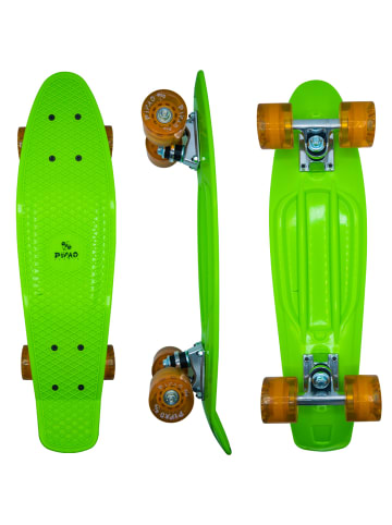 PiNAO Sports Retro-Skateboard in grün