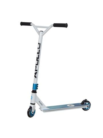 "Apollo Stunt Scooter Freestyle Roller "" Genius Pro 4.0 "" in weiß/blau"
