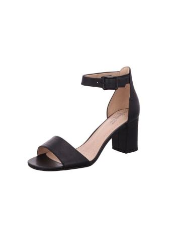 Clarks Sandalen/Sandaletten in schwarz