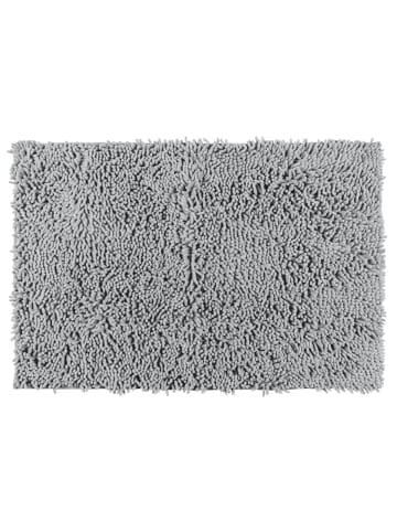 Wenko Badematte Chenille Light Grey, 50 x 80 cm in Hellgrau