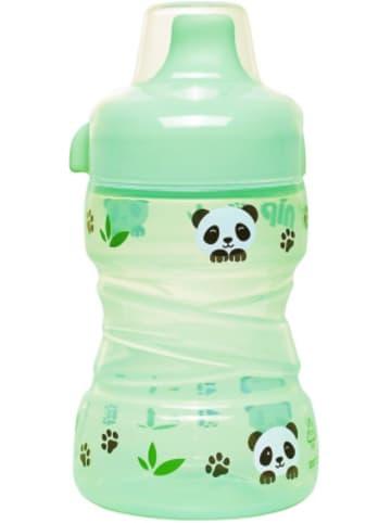Nip Trinklernflasche Trainer Cup mit festem Trinkschnabel, 260 ml, Panda